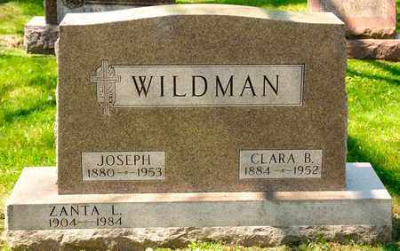 WILDMAN, CLARA B - Richland County, Ohio | CLARA B WILDMAN - Ohio Gravestone Photos