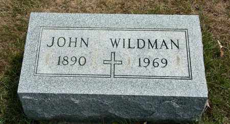 WILDMAN, JOHN - Richland County, Ohio | JOHN WILDMAN - Ohio Gravestone Photos
