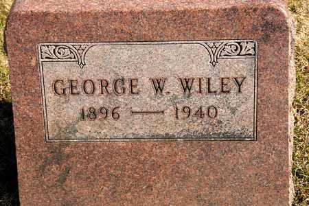 WILEY, GEORGE W - Richland County, Ohio | GEORGE W WILEY - Ohio Gravestone Photos