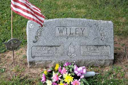 WILEY, GEORGE W - Richland County, Ohio | GEORGE W WILEY - Ohio Gravestone Photos