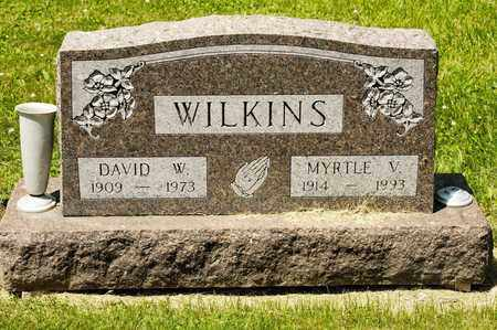 WILKINS, MYRTLE V - Richland County, Ohio | MYRTLE V WILKINS - Ohio Gravestone Photos