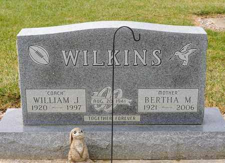 WILKINS, BERTHA M - Richland County, Ohio | BERTHA M WILKINS - Ohio Gravestone Photos