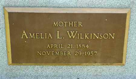 WILKINSON, AMELIA L - Richland County, Ohio | AMELIA L WILKINSON - Ohio Gravestone Photos