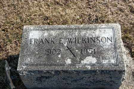 WILKINSON, FRANK E - Richland County, Ohio | FRANK E WILKINSON - Ohio Gravestone Photos