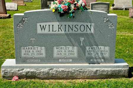 WILKINSON, HARRIET L - Richland County, Ohio | HARRIET L WILKINSON - Ohio Gravestone Photos
