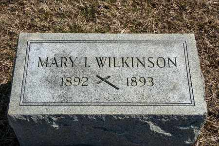 WILKINSON, MARY I - Richland County, Ohio | MARY I WILKINSON - Ohio Gravestone Photos