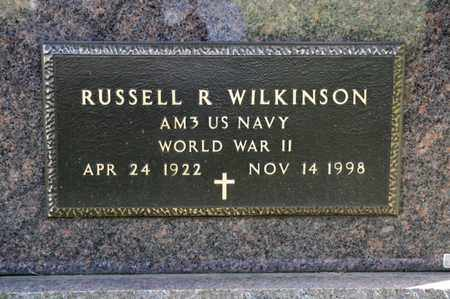 WILKINSON, RUSSELL R - Richland County, Ohio | RUSSELL R WILKINSON - Ohio Gravestone Photos
