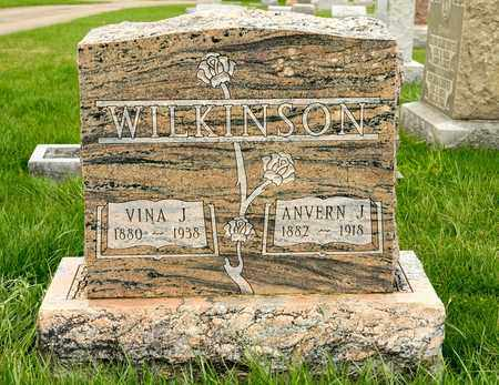 WILKINSON, ANVERN J - Richland County, Ohio | ANVERN J WILKINSON - Ohio Gravestone Photos