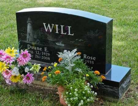 WILL, DUANE E - Richland County, Ohio | DUANE E WILL - Ohio Gravestone Photos
