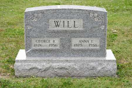 WILL, ANNA I - Richland County, Ohio | ANNA I WILL - Ohio Gravestone Photos