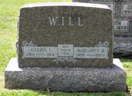WILL, GLENN I - Richland County, Ohio | GLENN I WILL - Ohio Gravestone Photos