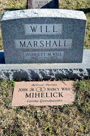 WILL, HARRIETT - Richland County, Ohio | HARRIETT WILL - Ohio Gravestone Photos