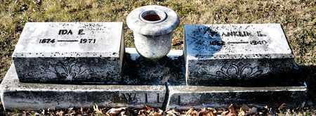 WILL, IDA E - Richland County, Ohio | IDA E WILL - Ohio Gravestone Photos