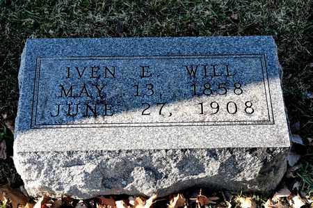 WILL, IVEN E - Richland County, Ohio | IVEN E WILL - Ohio Gravestone Photos