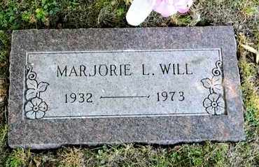 WILL, MARJORIE L - Richland County, Ohio | MARJORIE L WILL - Ohio Gravestone Photos