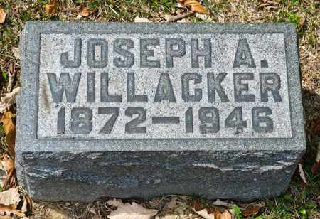 WILLACKER, JOSEPH A - Richland County, Ohio | JOSEPH A WILLACKER - Ohio Gravestone Photos