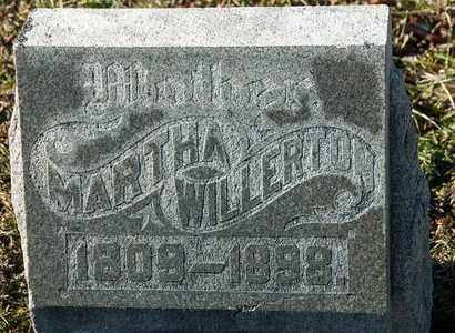 WILLERTON, MARTHA - Richland County, Ohio | MARTHA WILLERTON - Ohio Gravestone Photos