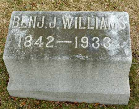WILLIAMS, BENJAMIN J - Richland County, Ohio | BENJAMIN J WILLIAMS - Ohio Gravestone Photos