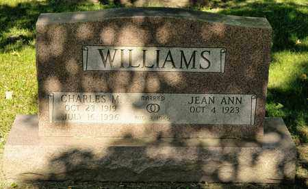 WILLIAMS, CHARLES M - Richland County, Ohio | CHARLES M WILLIAMS - Ohio Gravestone Photos