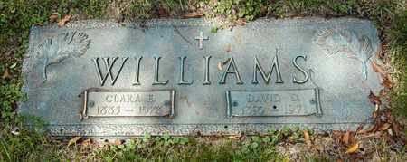 WILLIAMS, CLARA E - Richland County, Ohio | CLARA E WILLIAMS - Ohio Gravestone Photos
