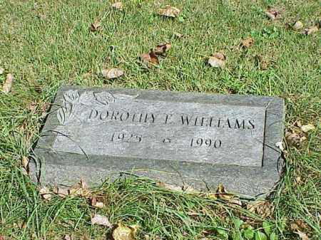WILLIAMS, DOROTHY E. - Richland County, Ohio | DOROTHY E. WILLIAMS - Ohio Gravestone Photos
