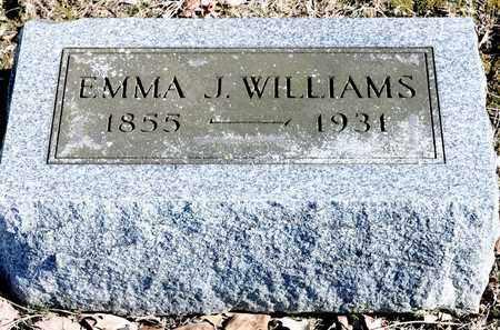WILLIAMS, EMMA J - Richland County, Ohio | EMMA J WILLIAMS - Ohio Gravestone Photos