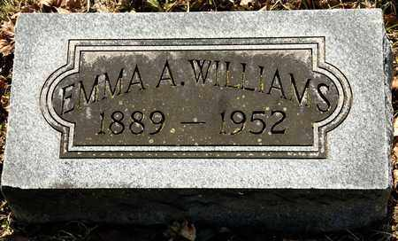 WILLIAMS, EMMA A - Richland County, Ohio | EMMA A WILLIAMS - Ohio Gravestone Photos