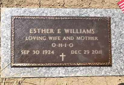 WILLIAMS, ESTHER E - Richland County, Ohio | ESTHER E WILLIAMS - Ohio Gravestone Photos
