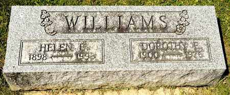 WILLIAMS, HELEN E - Richland County, Ohio | HELEN E WILLIAMS - Ohio Gravestone Photos