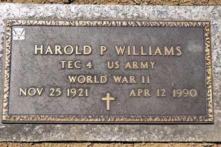 WILLIAMS, HAROLD P - Richland County, Ohio | HAROLD P WILLIAMS - Ohio Gravestone Photos