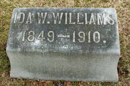 WILLIAMS, IDA W - Richland County, Ohio | IDA W WILLIAMS - Ohio Gravestone Photos