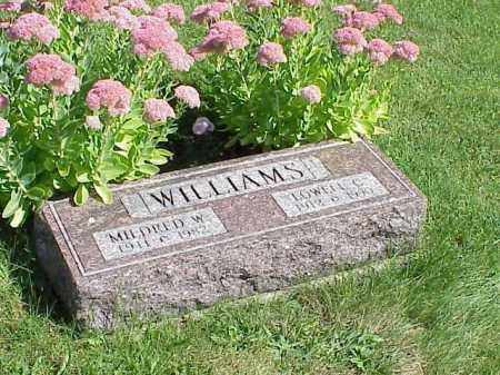 WILLIAMS, LOWELL C. - Richland County, Ohio | LOWELL C. WILLIAMS - Ohio Gravestone Photos