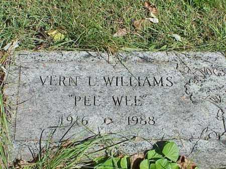 WILLIAMS, VERN L. - Richland County, Ohio | VERN L. WILLIAMS - Ohio Gravestone Photos