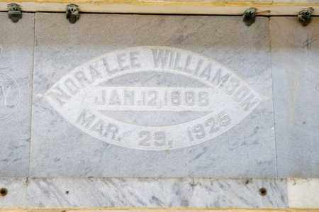 WILLIAMSON, NORA LEE - Richland County, Ohio | NORA LEE WILLIAMSON - Ohio Gravestone Photos