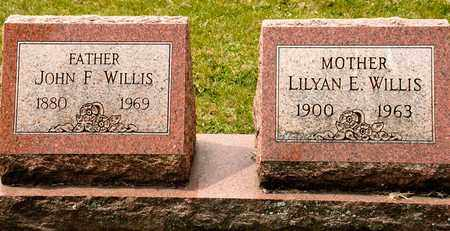 WILLIS, LILYAN E - Richland County, Ohio | LILYAN E WILLIS - Ohio Gravestone Photos