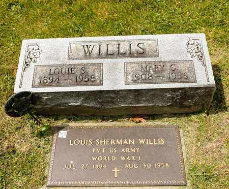 WILLIS, LOUIE S - Richland County, Ohio | LOUIE S WILLIS - Ohio Gravestone Photos