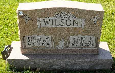 WILSON, MARY E - Richland County, Ohio | MARY E WILSON - Ohio Gravestone Photos