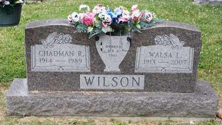 WILSON, CHADMAN R - Richland County, Ohio | CHADMAN R WILSON - Ohio Gravestone Photos