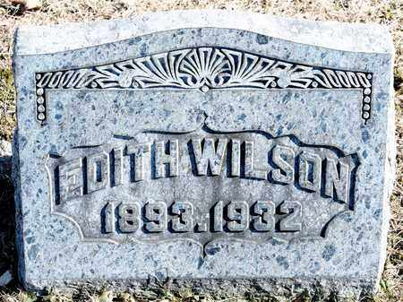 WILSON, EDITH - Richland County, Ohio | EDITH WILSON - Ohio Gravestone Photos
