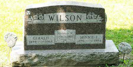 WILSON, MINNIE E - Richland County, Ohio | MINNIE E WILSON - Ohio Gravestone Photos