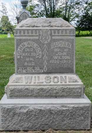 WILSON, JOHN - Richland County, Ohio | JOHN WILSON - Ohio Gravestone Photos