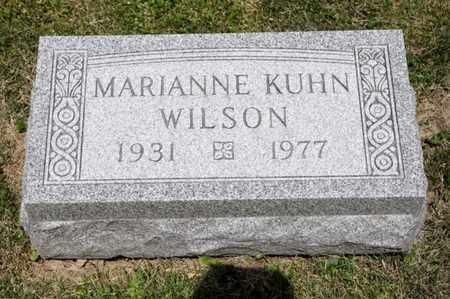 WILSON, MARIANNE - Richland County, Ohio | MARIANNE WILSON - Ohio Gravestone Photos