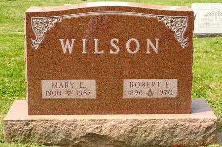 WILSON, MARY E - Richland County, Ohio | MARY E WILSON - Ohio Gravestone Photos