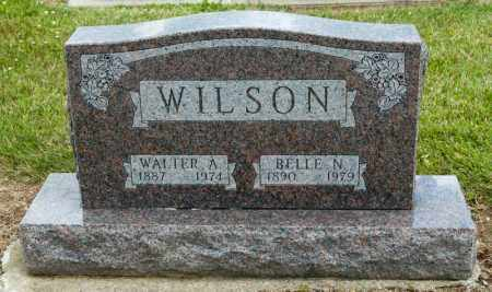WILSON, BELLE N - Richland County, Ohio | BELLE N WILSON - Ohio Gravestone Photos