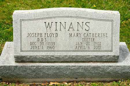 TEETER WINANS, MARY CATHERINE - Richland County, Ohio | MARY CATHERINE TEETER WINANS - Ohio Gravestone Photos