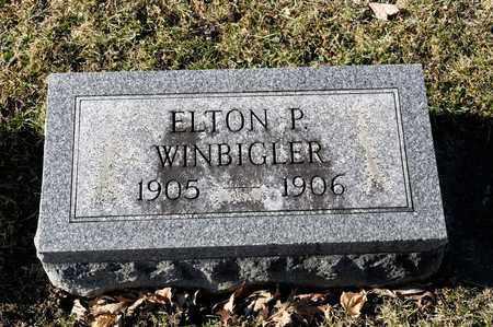 WINBIGLER, ELTON P - Richland County, Ohio | ELTON P WINBIGLER - Ohio Gravestone Photos