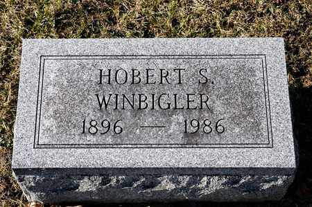 WINBIGLER, HOBERT S - Richland County, Ohio | HOBERT S WINBIGLER - Ohio Gravestone Photos