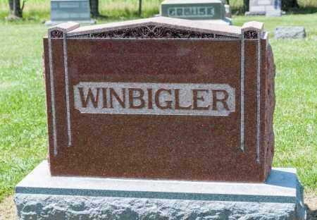 WINBIGLER, LEW W - Richland County, Ohio | LEW W WINBIGLER - Ohio Gravestone Photos