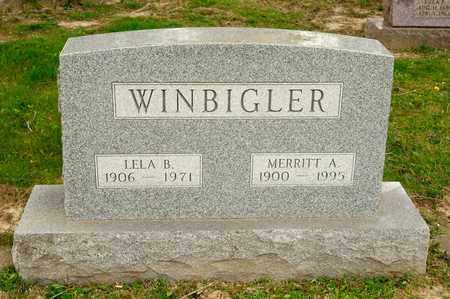 WINBIGLER, LELA B - Richland County, Ohio | LELA B WINBIGLER - Ohio Gravestone Photos