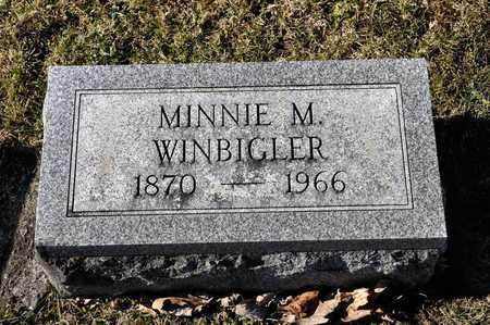 WINBIGLER, MINNIE M - Richland County, Ohio | MINNIE M WINBIGLER - Ohio Gravestone Photos